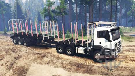 MAN TGS 26.480 for Spin Tires