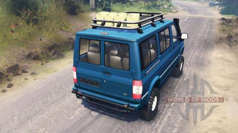 UAZ-3165 Simba [03.03.16] for Spin Tires