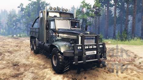 KrAZ-255 B1 Crocodile v2.0 [03.03.16] for Spin Tires