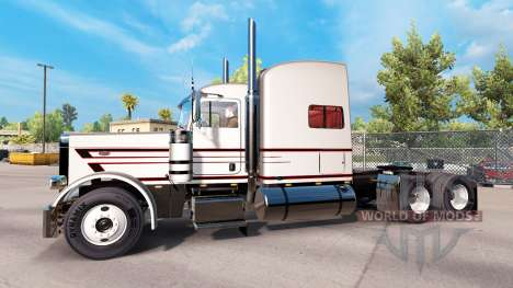 Skin for MBH Trucking LLC truck Peterbilt 389 for American Truck Simulator
