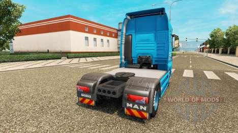 Skin Detten Johann Dorfer v1.1 for the tractor M for Euro Truck Simulator 2