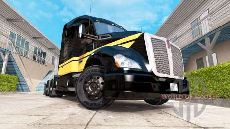 Skin Smokey and The Bandit Kenworth truck on the for American Truck Simulator