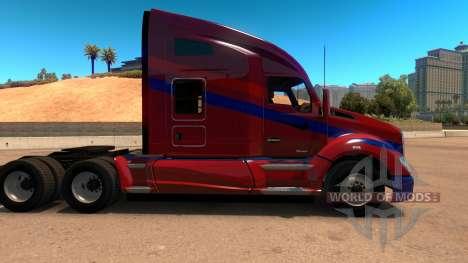Kenworth T680 Barcelona Skin for American Truck Simulator