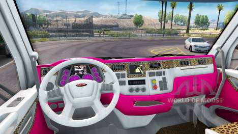Skin Girl Edition Peterbilt tractor for American Truck Simulator