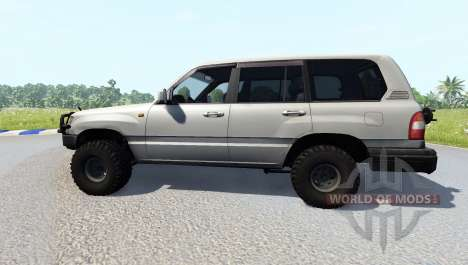 Toyota Land Cruiser 100 [renewed] for BeamNG Drive