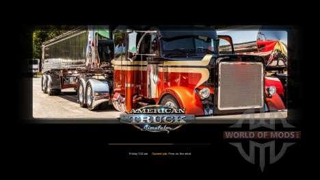 New loading screens for American Truck Simulator