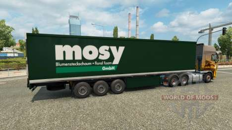 Skin Mosy on semi-trailer for Euro Truck Simulator 2