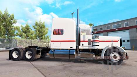 Skin Nathan T Deacon for the truck Peterbilt 389 for American Truck Simulator
