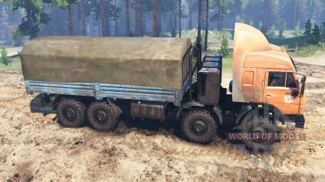 KamAZ-6350 [03.03.16] for Spin Tires
