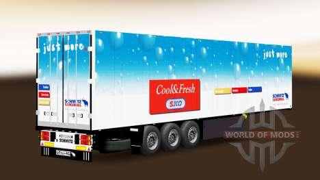 Semi-Trailer Schmitz Cargobull for Euro Truck Simulator 2