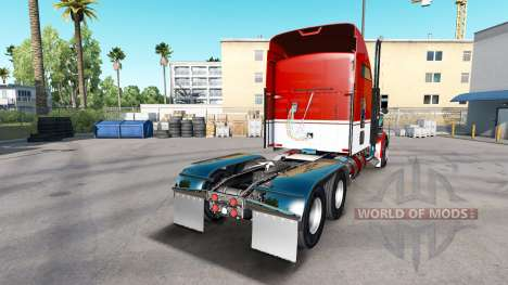 The skin Army on the truck Kenworth W900 for American Truck Simulator