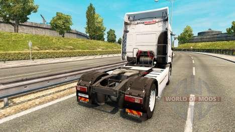 Intermarket skin for Renault truck for Euro Truck Simulator 2