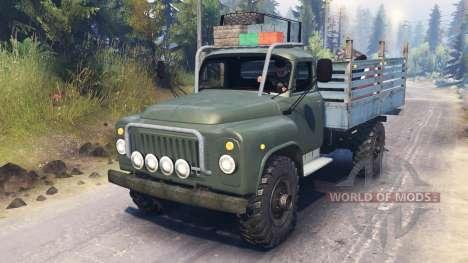 GAZ-53 v03.02.16 for Spin Tires