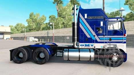 California Wine skin for Kenworth K100 truck for American Truck Simulator