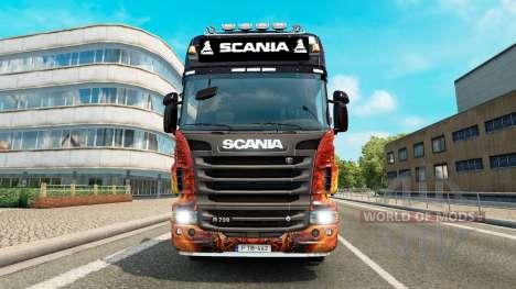 Lightbar Scania for Euro Truck Simulator 2
