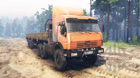 KamAZ-44108 KAMAZ-44118 v01.05.16 for Spin Tires