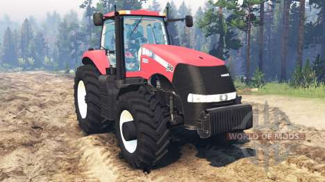 Case IH Magnum CVT 380 for Spin Tires