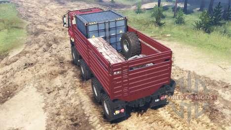 Tatra Phoenix T 158 8x8 custom for Spin Tires