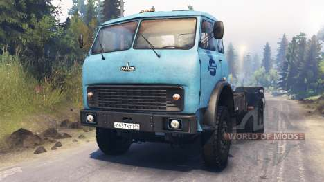 MAZ-500 for Spin Tires