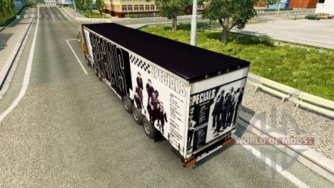 Skin The Specials on the trailer for Euro Truck Simulator 2