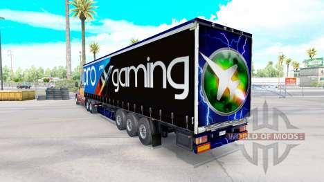 MSI skin on the trailer for American Truck Simulator
