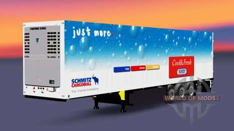 Semi-Trailer Schmitz Cargobull for Euro Truck Simulator 2