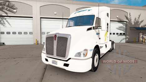 Swift skin for the Kenworth tractor for American Truck Simulator