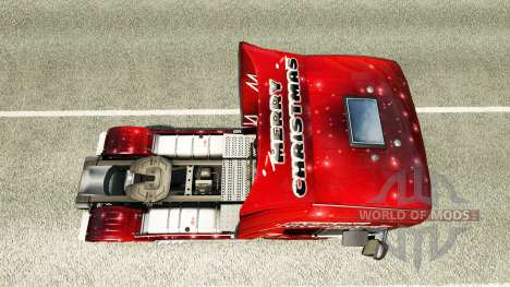 Christmas skin for Scania truck for Euro Truck Simulator 2