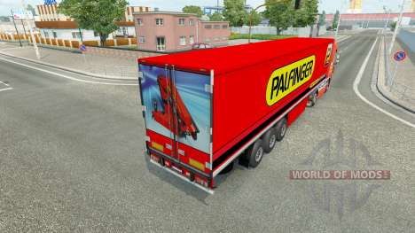 Palfinger skin for DAF truck for Euro Truck Simulator 2