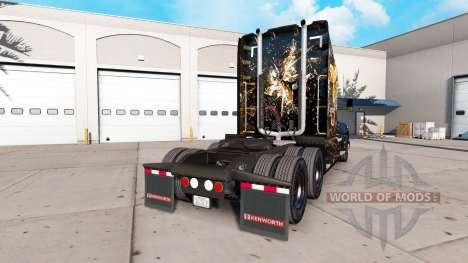 Tiger skin for Peterbilt and Kenworth trucks for American Truck Simulator