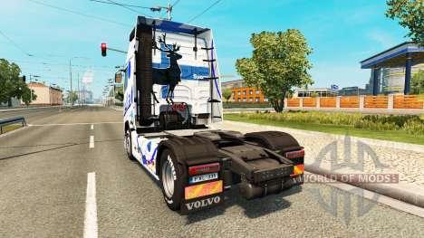 Itella skin for Volvo truck for Euro Truck Simulator 2