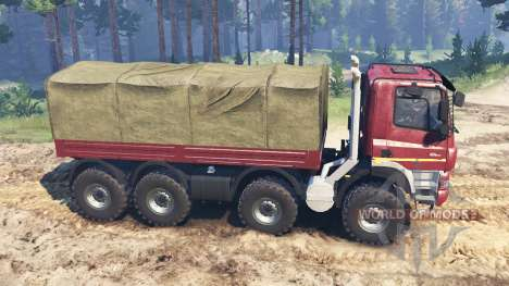 Tatra Phoenix T 158 8x8 custom for Spin Tires