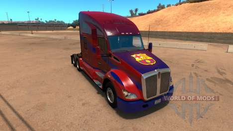 Kenworth T680 Barcelona Skin for American Truck Simulator