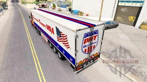 Powerhouse Transport semi-trailer USA for American Truck Simulator