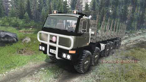 Tatra Terrno 12x12 [03.03.16] for Spin Tires