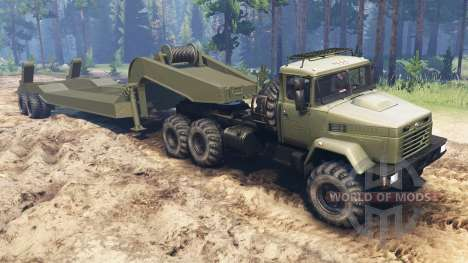 The KrAZ-6322 [03.03.16] for Spin Tires