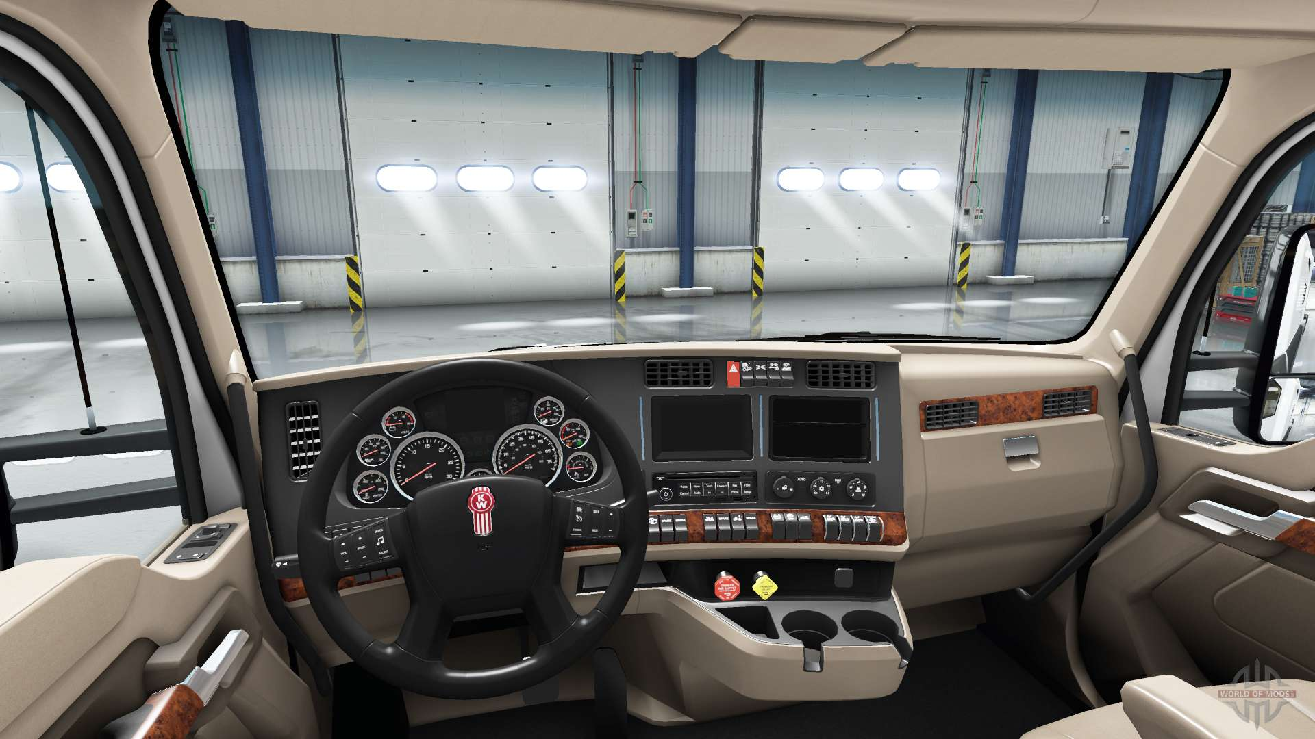 Redesigned The Interior Of The Kenworth T680 For American Truck Simulator Pictures