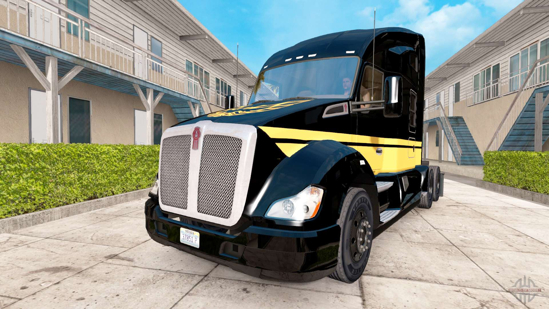 skin smokey and the bandit kenworth truck on the for