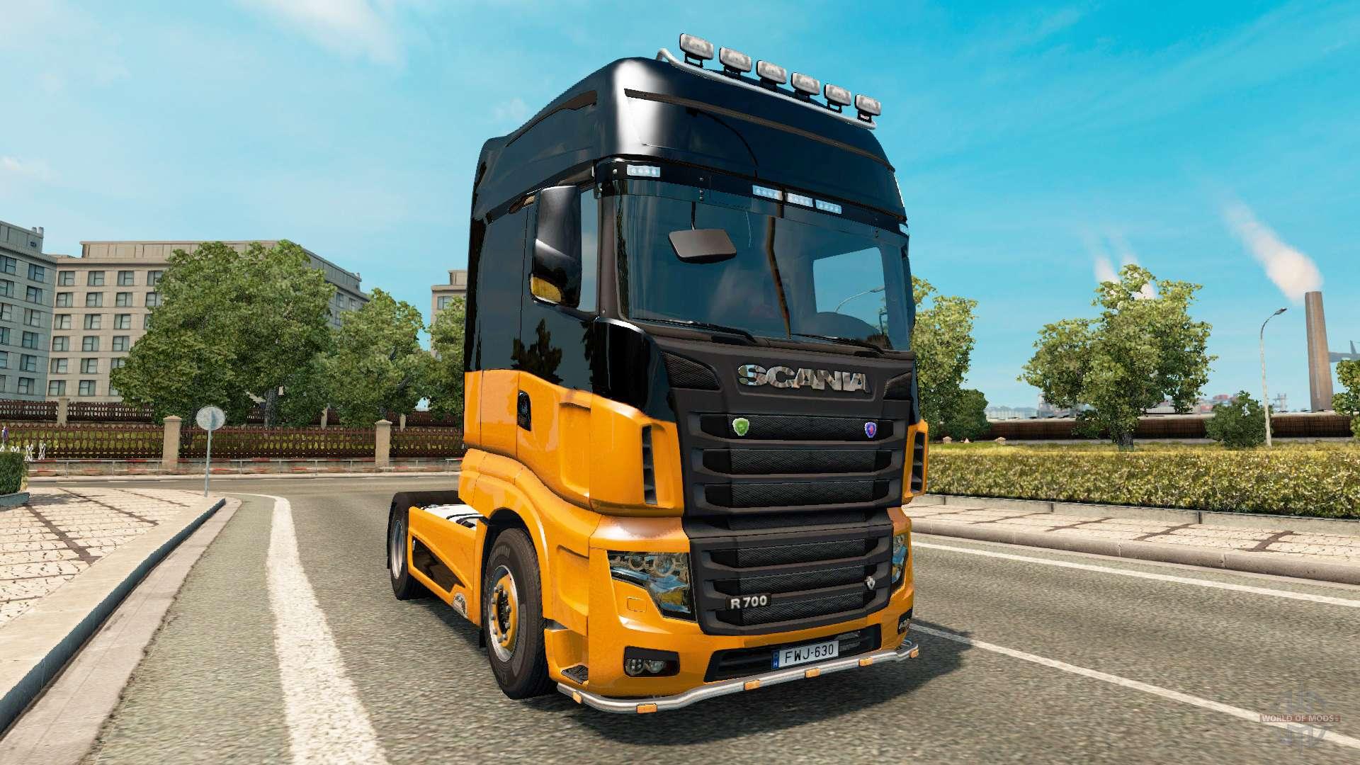 scania r700 v2 5 for euro truck simulator 2. Black Bedroom Furniture Sets. Home Design Ideas