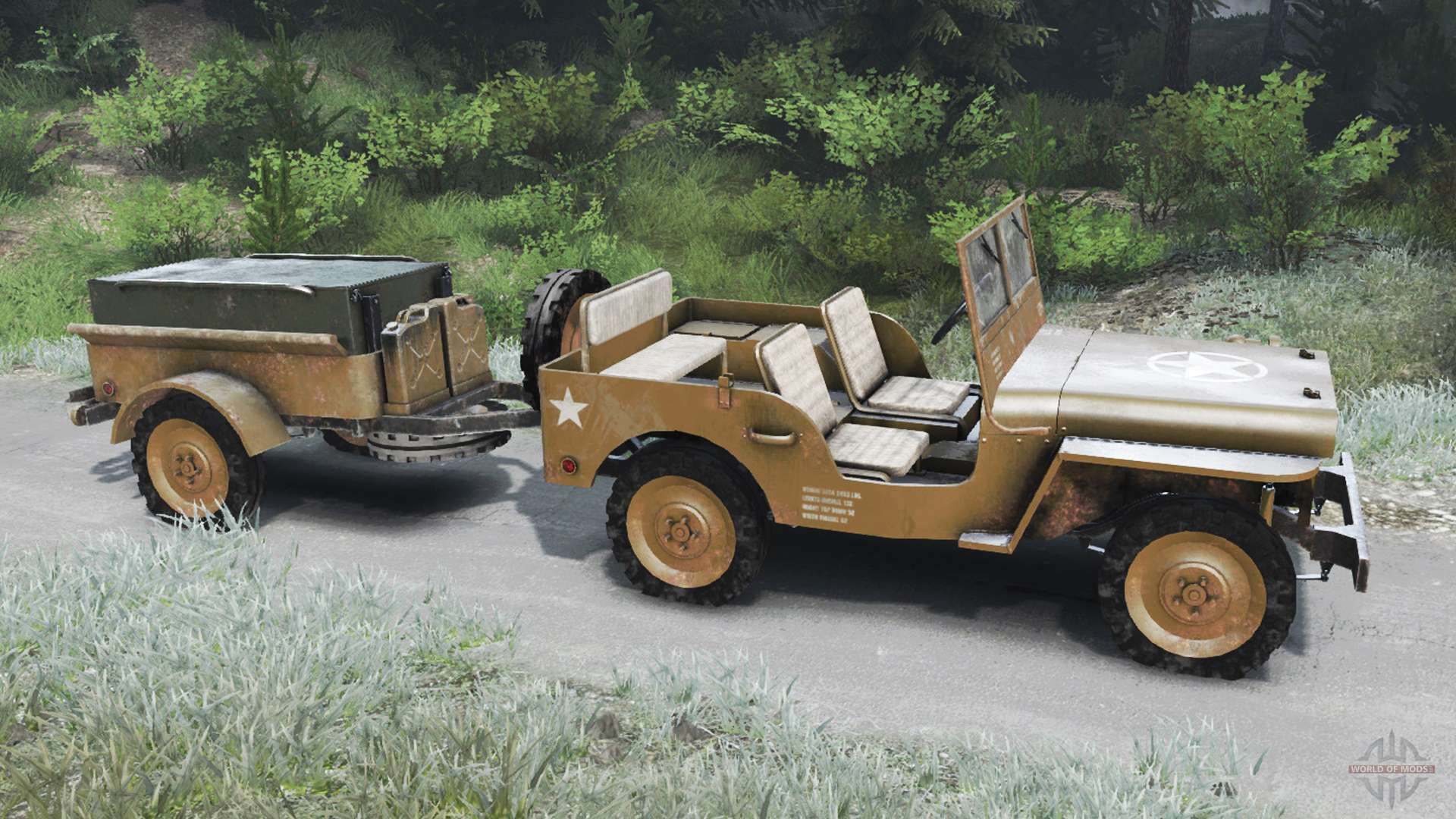 Jeep Willys 1942 03 03 16 For Spin Tires