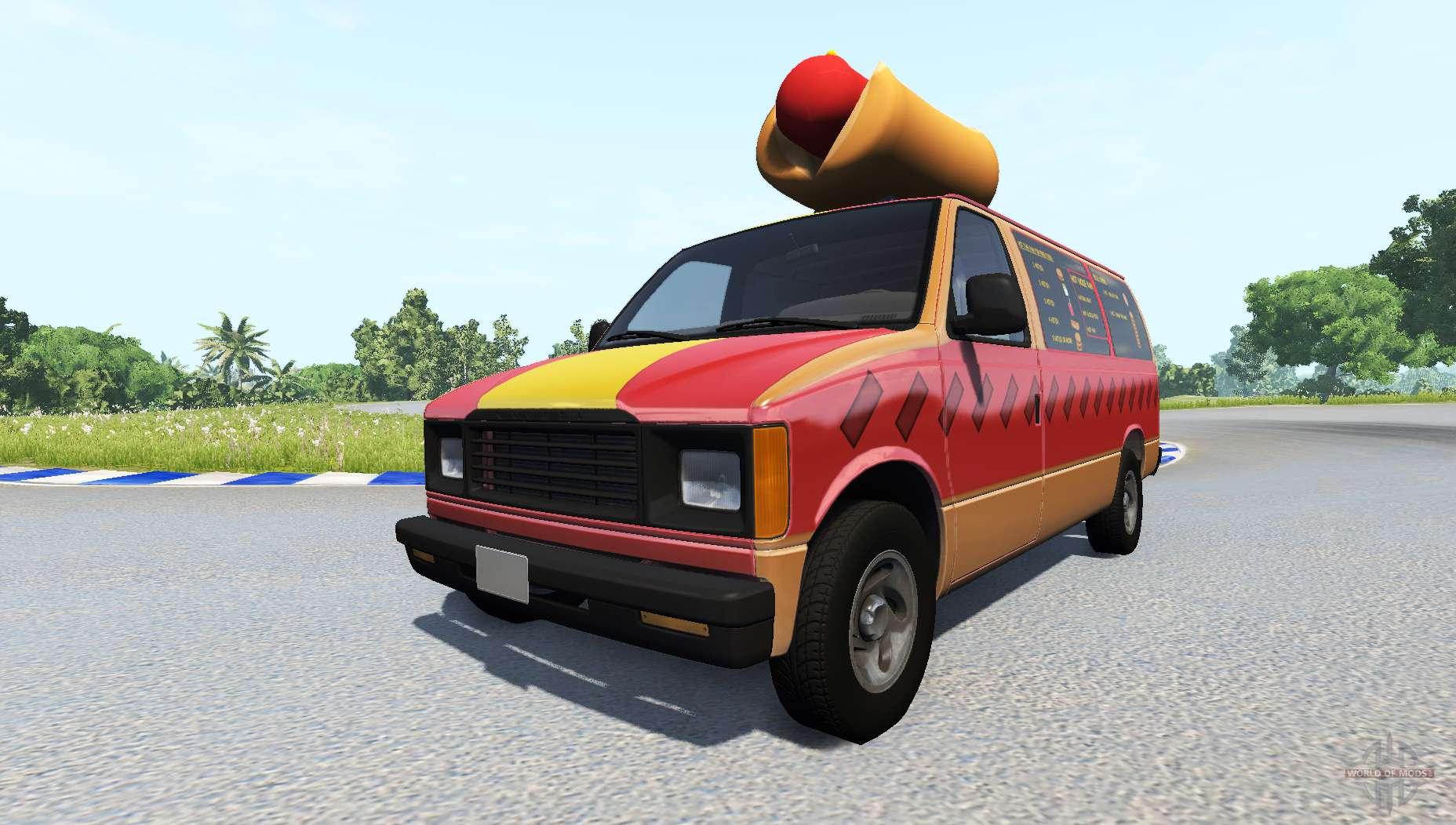 Mod Beamng Food Truck