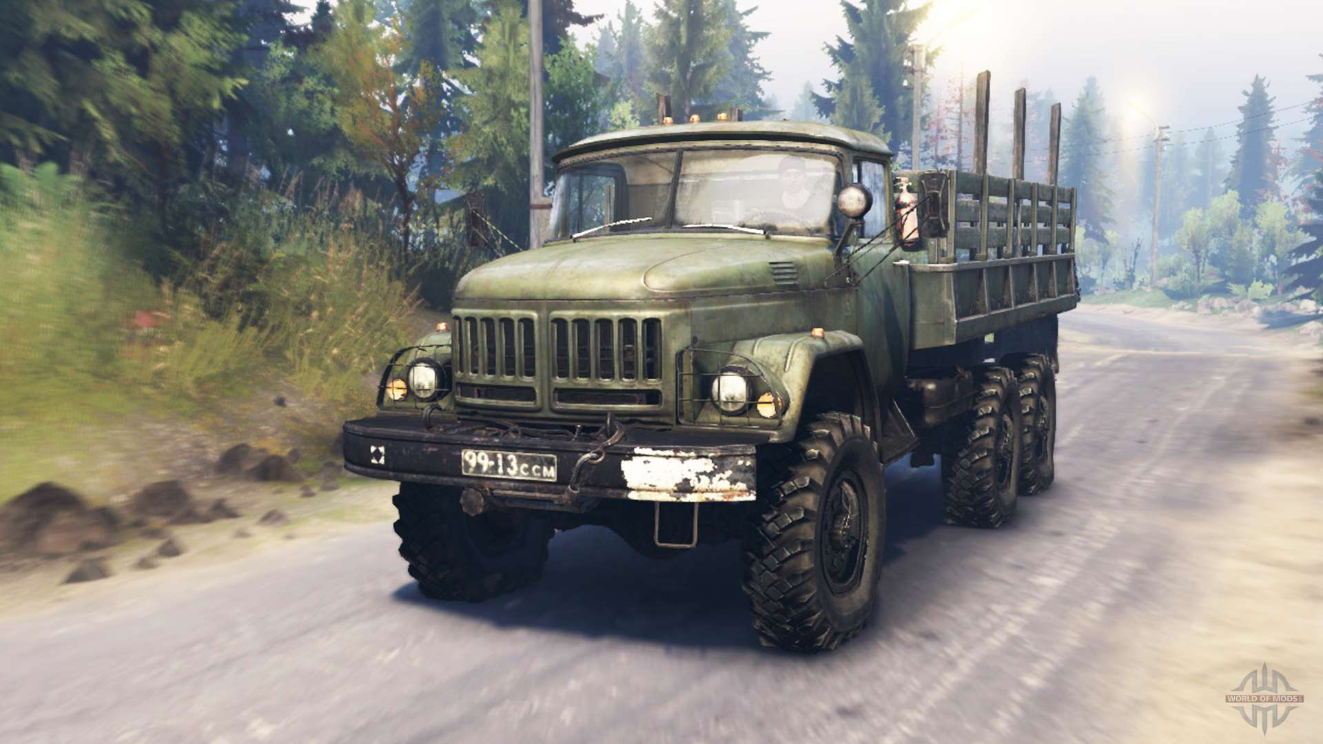 Zil 131 For Spin Tires