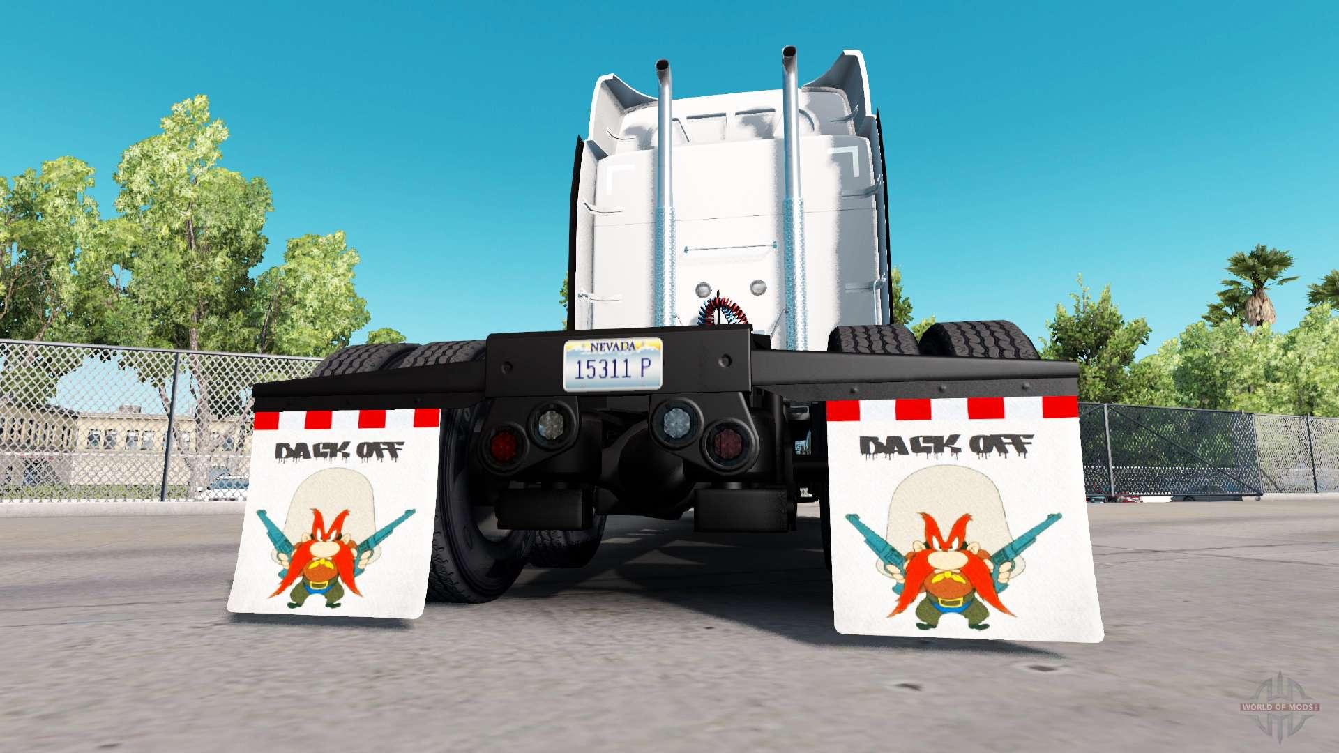 Semi Truck Mud Flaps >> Mud flaps Back off for American Truck Simulator