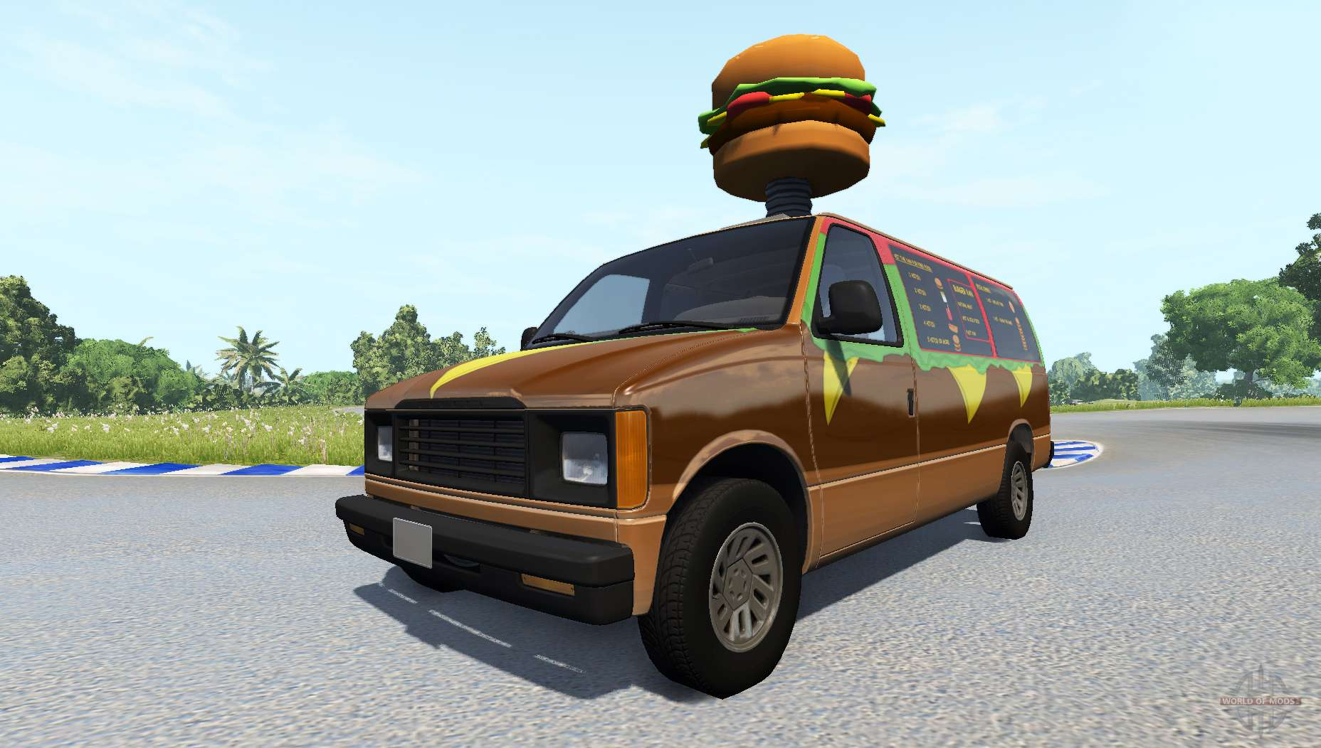 Drive: Gavril H-Series Fast Food For BeamNG Drive