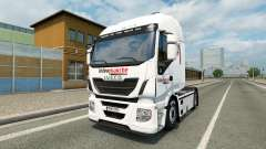 Skin Intermarket on the truck Iveco