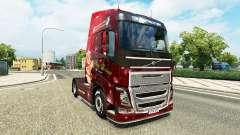 Christmas skin for Volvo truck for Euro Truck Simulator 2