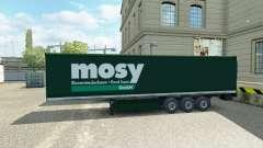 Skin Mosy on semi-trailer for Euro Truck Simulator 2