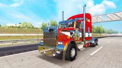 Metallic skin for the Kenworth W900 tractor