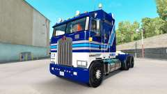 California Wine skin for Kenworth K100 truck