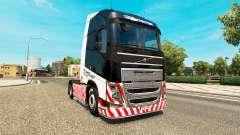 Schwerlast Transport skin for Volvo truck